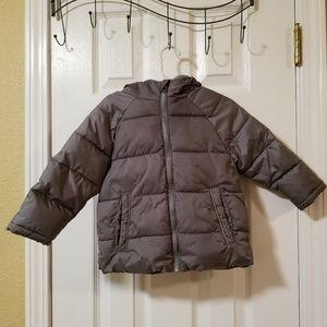Wonder Nation Toddler Puff Coat